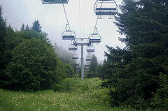 Ski lift to the clouds (crcmuir) Tags: