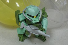 Some Incredible Mobile Suit Gundam Origami (Origami.me) Tags: origami papercraft paper fold folding diy craft crafts gundam anime