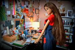 Spencer Hastings room (pe.kalina) Tags: doll barbie room mattel dollhouse spencer hastings pretty little liars