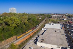 Powering the Day (kcerrato1) Tags: 788 ns up cp columbia sc south carolina drone coal train railfanning five 5 points