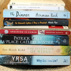 March books (overthemoon) Tags: books booksread basket spines paperbacks square