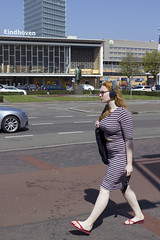 She passed by (Martijn A) Tags: redhead rooie red rood woman vrouw girl meisje beauty schoonheid spring lente hot heet warm sunny zonnig sunday zondag candid streetphotography straatfotografie canon 550d dslr eos ef35mmf2isusm wwwgevoeligeplatennl