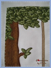 arvore (Joanninha by Chris) Tags: handmade feitoamão bordado manta menino urso ursinho enxovalbebe enxovalmenino aplicaçãodetecidos artesanato bear baby bebê patchwork patch azul