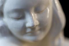 Glaze - HMM! (suzanne~) Tags: glaze macromondays challenge white craquelure figurine statue detail porcelain