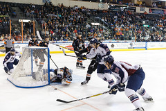 "Missouri Mavericks vs. Tulsa Oilers, March 5, 2017, Silverstein Eye Centers Arena, Independence, Missouri.  Photo: John Howe / Howe Creative Photography • <a style=""font-size:0.8em;"" href=""http://www.flickr.com/photos/134016632@N02/33158622342/"" target=""_blank"">View on Flickr</a>"