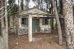 The Cabin in the woods (Santini1972) Tags: abandoned spain catalonia house woods fear door windows wood nikond5100