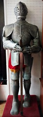 HE'S MY KNIGHT IN SHINING ARMOUR (Visual Images1) Tags: owego antique knight armour