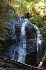 Cascade Falls (Worthing Wanderer) Tags: washington usa sunny summer hot sea mountains islands sanjuanislands orcasisland anacortes eastsound