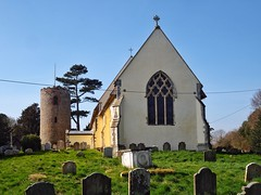 Photo of St Andrew's Church Bramfield Suffolk 2017