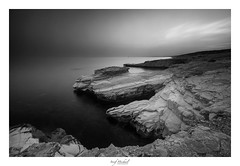 Rock formations (iosif.michael) Tags: sony a7 rock formations bw batis longexposure leefilters bigstopper 06hardndgrad sea seascape water sky clouds sun sunset