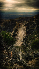 Mountain Pass (danielledufour430) Tags: photography road travel drive mountain mountainpass valley landscape storm clouds lighting shadows hdr winding branches nature sonya6000 outside