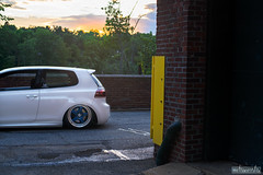 DSC_1612 (missamagnificent) Tags: wheel lab wheels oz pegasus ozgang ozpegasus mk6 mkvi golfr golf r vw volkswagen candy white bagged slammed stance stanced new england brick newengland newhampshire stancenation stanceworks canibeat
