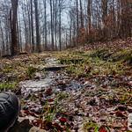 Wasser fließt über den Trauntal-Höhenweg thumbnail