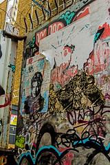 Bowie Map 2 (PDKImages) Tags: bowie davidbowie shoreditch london street art shoreditchstreetart colours wallart urban abandoned creative map hidden