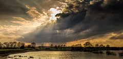 Dramatic light (PhotoChampions) Tags: landscape rural sunset light sky germany deutschland himmel licht sonnenuntergang see lake wasser water sun sucnlight sonnenlicht
