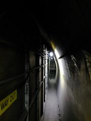 Way Out (failing_angel) Tags: 100816 london cityoflondon mayfair hiddenlondon undergroundstation ghoststation downstreet railwayexecutivecommittee warcabinet cabinetwarrooms