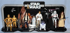 Hasbro - Legacy Pack Open (Darth Ray) Tags: hasbro star wars darth vader legacy pack opened displayed sand people death squad commander princess leia organa jawa old