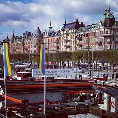 Club de mar Stockholm (antoniosanchezserrano) Tags: instagramapp square squareformat iphoneography uploaded:by=instagram hudson escandinavia sweden suecia stockholm estocolmo baltic sea