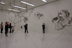 Floor to Ceiling (JB by the Sea) Tags: sanfrancisco california march2017 sanfranciscomuseumofmodernart sfmoma financialdistrict tomassaraceno stillnessinmotioncloudcities