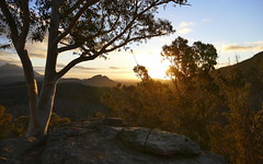 Remains of the day... (The Pocket Rocket) Tags: sunset warrumbunglesnationalpark nsw australia
