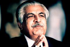 Caretaker Prime Minister Ghulam Mustafa Jatoi soon after taking over in 1990 (Doc Kazi) Tags: mustafa caretaker heading interim jatoi ghulam government islamabad pakistan