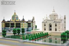 Czech National Museum with Taj Mahal