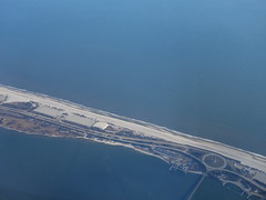 201701034 AB7248 TXL-JFK Jones Beach Island (taigatrommelchen) Tags: 20170105 usa ny newyork naussaucounty ocean atlantic island coast tower aerial photo view airplane inflight ber