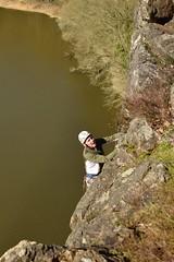 Dernières prises (bonnaudthomas) Tags: escalade climbing falaise cliff lac lake mervent