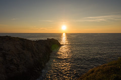 Mazunte Punta Cometa lookout Mexico sunset