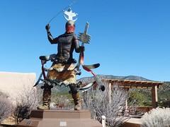 Museum Hill, Santa Fe (honestys_easy) Tags: nm newmexico santafe southwest madrid sculpture art history