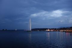 Genève (p.mamede) Tags: sera luzes suíça geneva noite night nuit jetdeau switzerland léman lac lake suiza ginebra suisse travels viagens férias reise urlaub swiss genebra schweiz vacances vacanzas svizzera ginevra