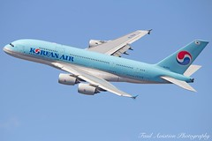 Korean Air Airbus A380-861 HL7614 (Fasil Avgeek) Tags: korean air airbus a380861 hl7614 airways airlines airport jfk kjfk a380 800 jet aircraft airplane airliner jetliner