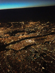Over the Big Apple ! (NaPCo74) Tags: explore explored avion plane sky earth google new york big apple manhattan island united airline washington dulles geneva airport airbus iad gva ua boeing 767 767400 400 view night vue aérienne aerial over nuit central park