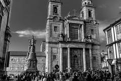 convento de San Francisco de Santiago (phooneenix) Tags: convento sanfrancisco santiagodecompostela blackandwhite