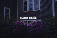 hard times (lauren zaknoun) Tags: paramore hardtimes light typography textart conceptual conceptualphotography flowers spring night dusk nature hayleywilliams neonlight