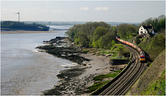 Estuary View (Welsh Gold) Tags: 60001 6b13 robeston westerleighy oil tanks train purton gloucestershire england