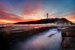 0S1A3912enthuse (Steve Daggar) Tags: lighthouse norahhead sunset seascape landscape gosford nswcentralcoast longexposure