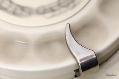 Rotating dial disc  from an old phone. (Digifred.) Tags: macromondays intentionalblur digifred 2017 pentaxk5 macro blur beweging phone telefoon rotatingdialdisc oldphone vintage kiesschijf erricsson