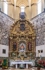 DSC6750 Retablo del Altar Mayor del Monasterio de Santa María la Real de Nieva, siglo XVII, (Segovia) (Ramón Muñoz - ARTE) Tags: monasterio de santa maría la real nieva