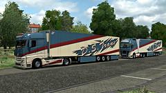D.S.Trans ([johannes]) Tags: ets2 euro truck simulator express lkw lastkraftwagen look low lamberet schmitz mercedes mp4 mercedesmp4 michelin mp 4 volvo fh 16 tuning trailer thermo trucks trans transport transit v8 actros