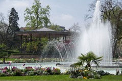 Balade toulousaine (PierreG_09) Tags: toulouse hautegaronne midipyrénées occitanie jardin parc jardindugrandrond grandrond jetdeau bassin kiosque