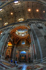 St Peter's Basilica (Baz 3112) Tags: foranyonewhosinterested 500px hdr hdrcollection hdrgallery hdrphoto hdrphotography perspective rome city architecture cathedral