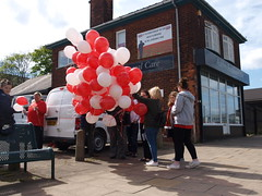 Hillsborough Memorial Service at Ashby Funeral Care on 15th April 2017 (Scunthorpe Life) Tags: scunthorpe liverpool football lfc hillsborough disaster tragedy jft96