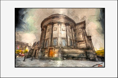 ST GEORGES HALL (DEREK HYAMSON . OVER 5 AND A HALF MILLION) Tags: hdr impression stgeorgeshall liverpool