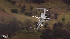RAF Tornado GR4 ZD713 low level at Ullswater (NDSD) Tags: low level panavia tornado gr4 ullswater cumbria flying jet raf lake district