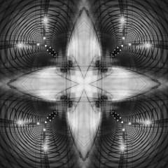 The Emergence of Exit Routes - HSS! (lunaryuna) Tags: sldierssunday manipulation creative vision abstract photoshop norway lofoten architecture tunnel tubularhells uparoundthebend blackwhite bw monochrome light darkness lunaryuna