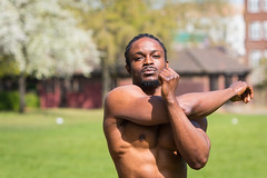 IMG_5987 (Zefrog) Tags: zefrog london uk muscle man portraiture fit fitness stretching stretch blackman iyo personaltrainer bodybuilder