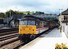 "47840 ""North Star"" (Sparegang) Tags: 47840 47077 47613 d1661 class47 474 brushtype4 sulzer 1m56 crosscountrytrains britishrail westernregion mainlinelivery totnes"