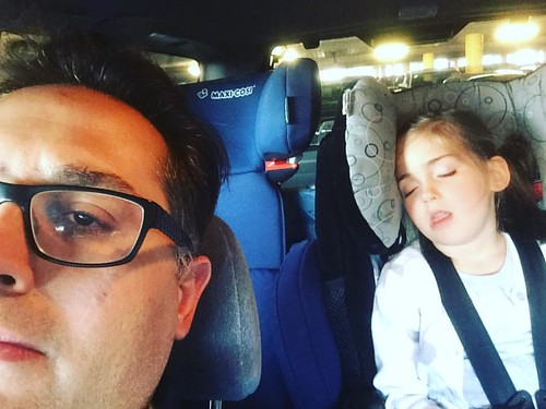 Mia fell asleep so waited in the car with her.  Best trip to IKEA EVER.