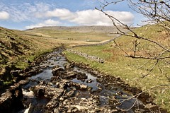 English countryside (wander luce) Tags: countryside river water stone landscape tree flora fauna sky clouds hills valley outdoors outside scenery